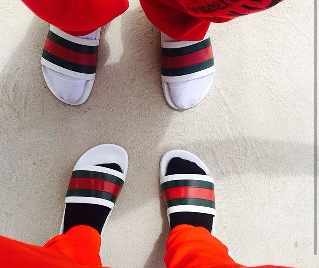 996fecde7 Gucci flip flops
