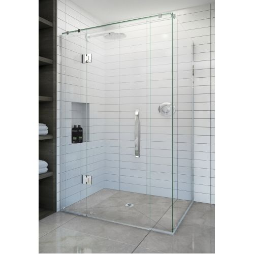 Acclaim Tile Showers Door Set With Profinish Tile Tray And