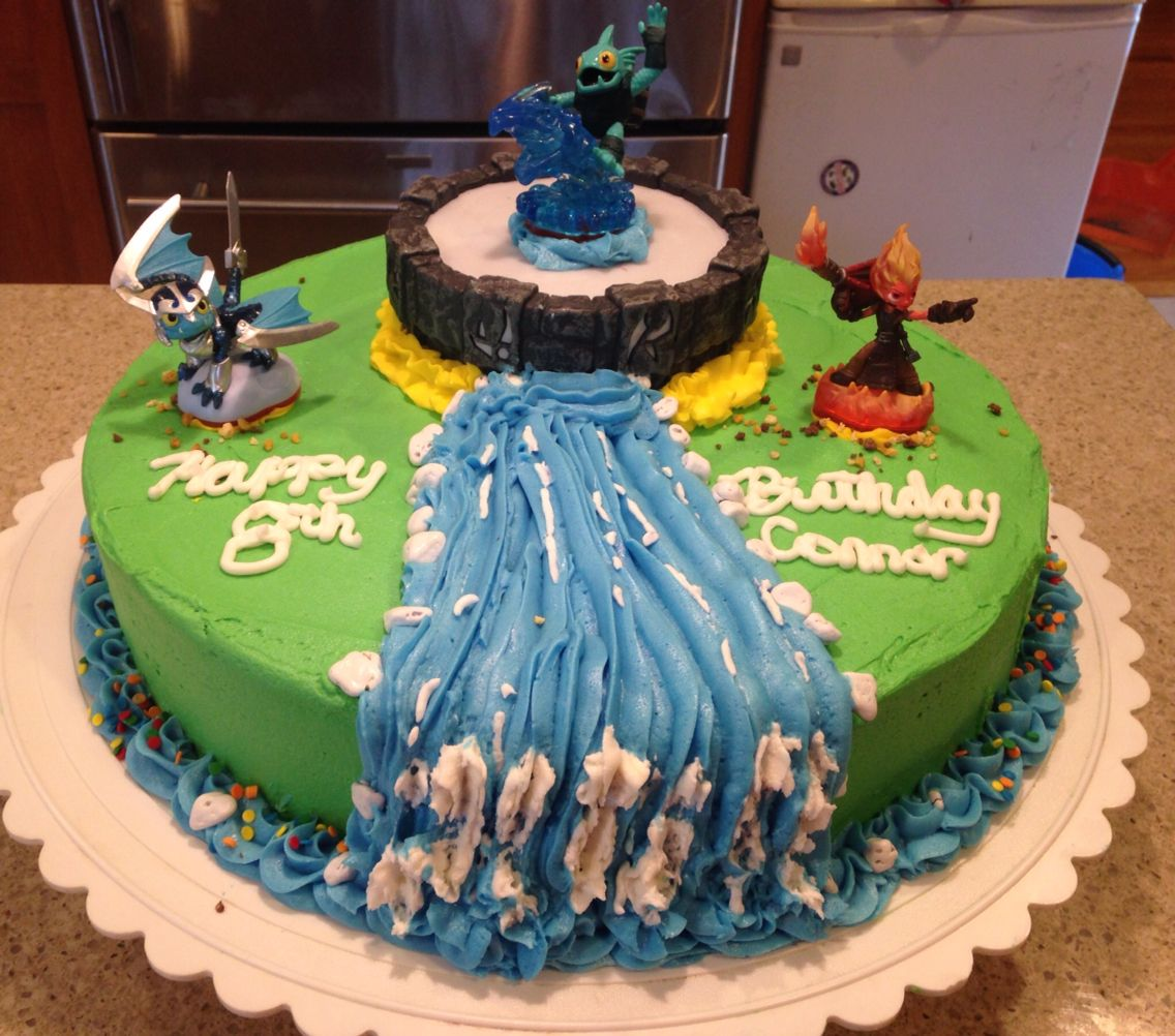 Admirable Skylander Trap Team Cake Cupcake Birthday Cake Party Cakes Cake Funny Birthday Cards Online Inifofree Goldxyz