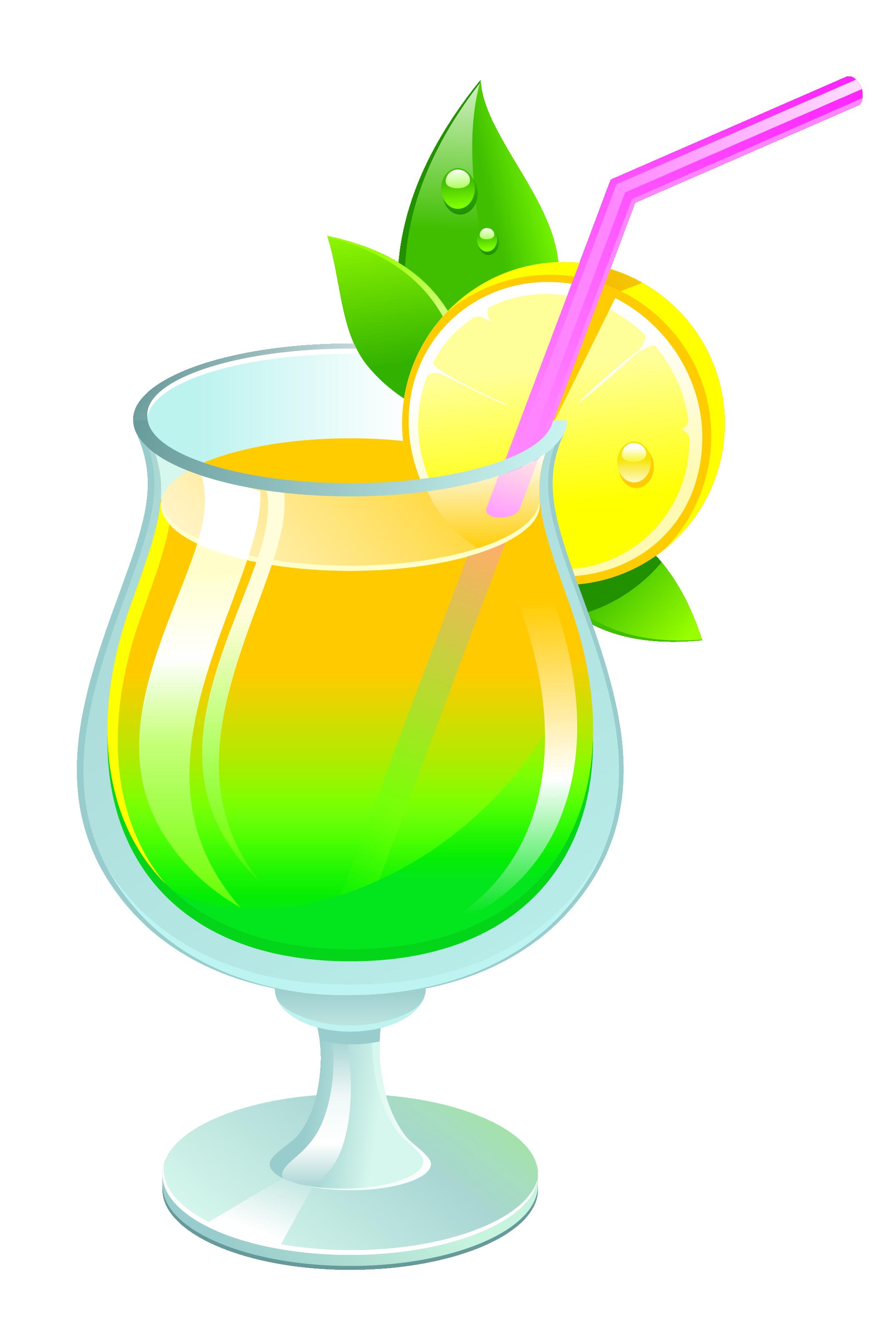 Transparent Summer Cocktail PNG Clipar (With images ...