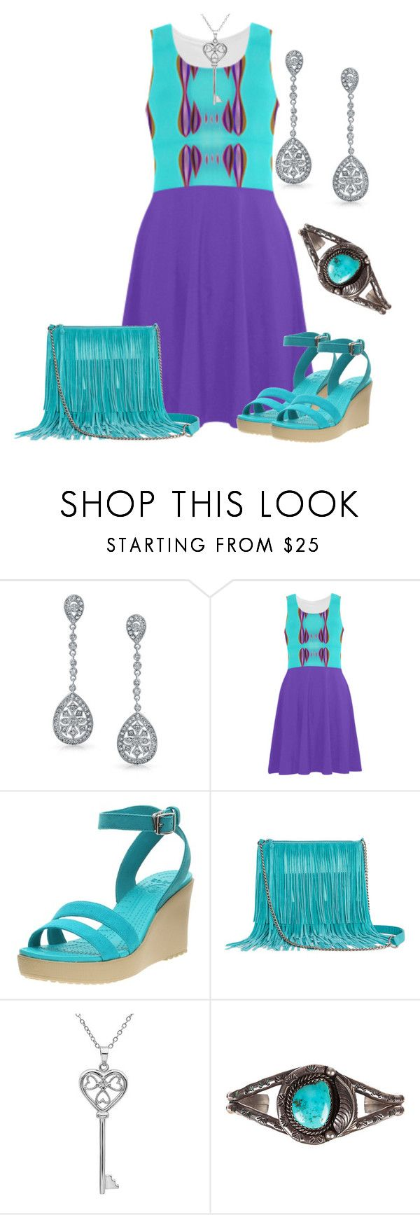 """Untitled #3278"" by ifuseekjamie94 ❤ liked on Polyvore featuring Bling Jewelry, Arizona and Amanda Rose Collection"
