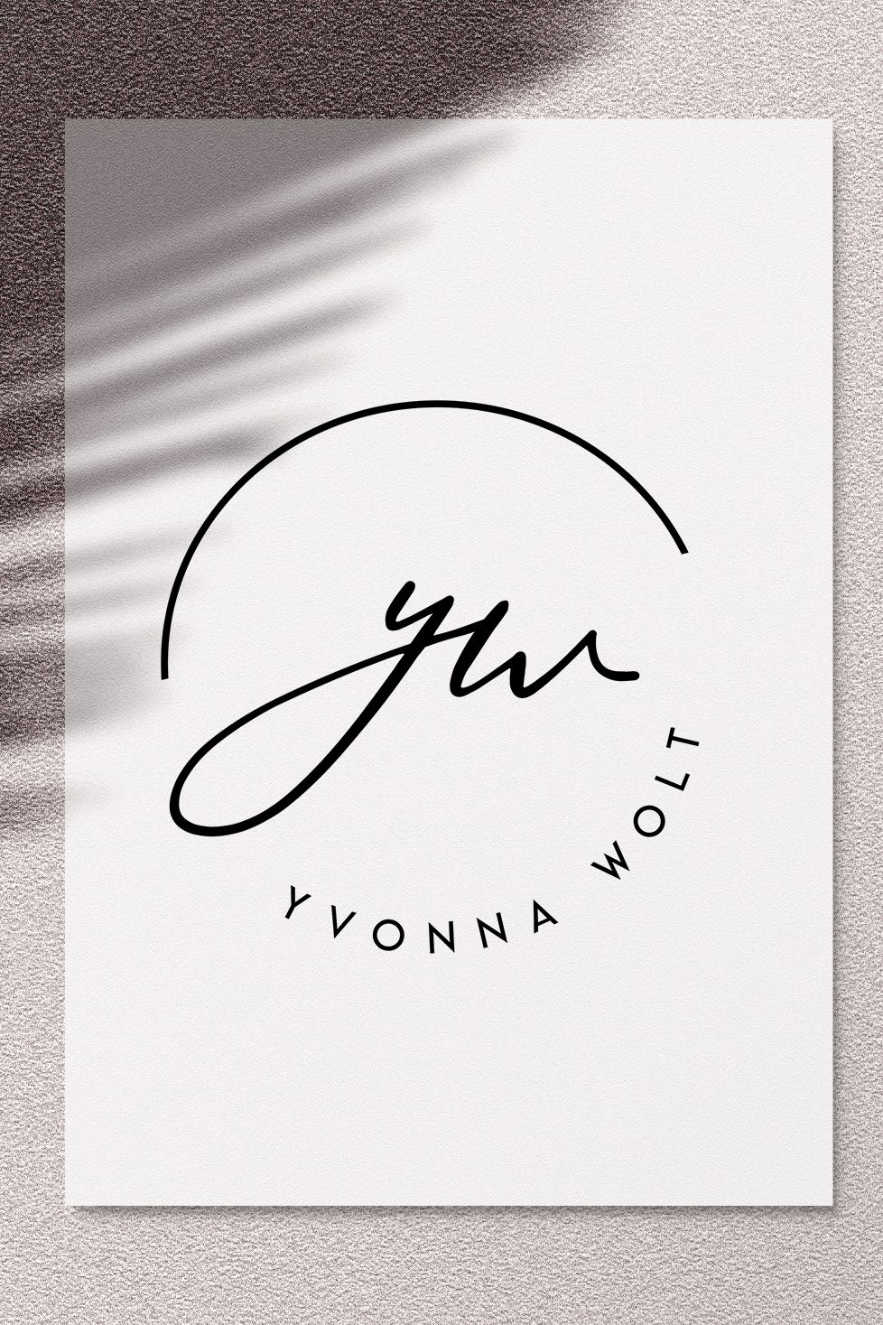 Photo of Signature Logo, Initials Logo Design, Blogger Logo, Submark Logo, Simple Logo Design