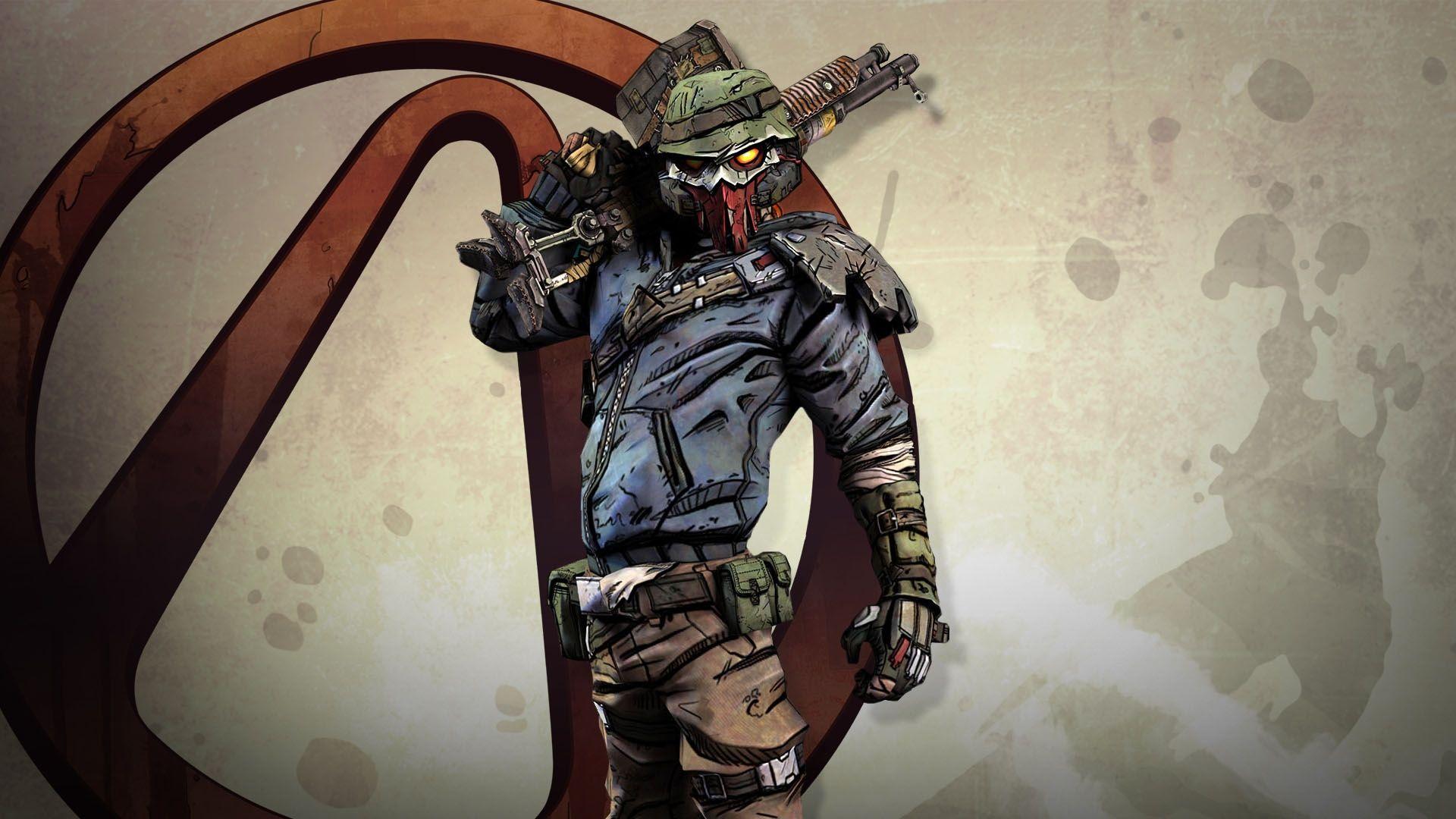 dashing borderlands roland shotgun emblem background download image
