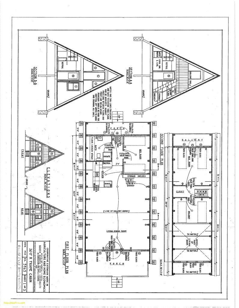 Small Cabin Plans A Frame Small Cabin Plans A Frame Free A Frame Cabin Plans Blueprints Construction Documents Rumah Kayu Gelondong Denah Rumah Arsitektur