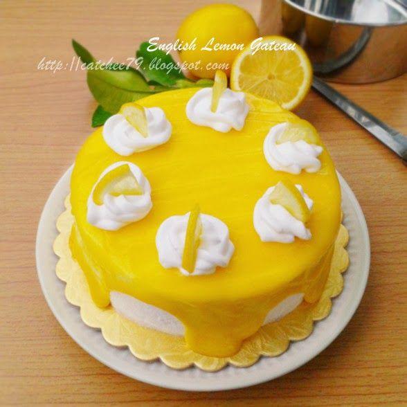 只想让自己快乐 生日蛋糕 英式柠檬蛋糕english Lemon Gateau Cake Food Desserts