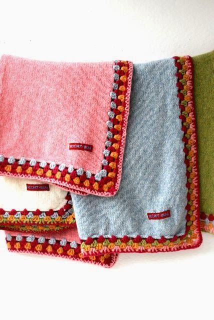crochet edging... www.rocketandbear.com | Edgings | Pinterest ...