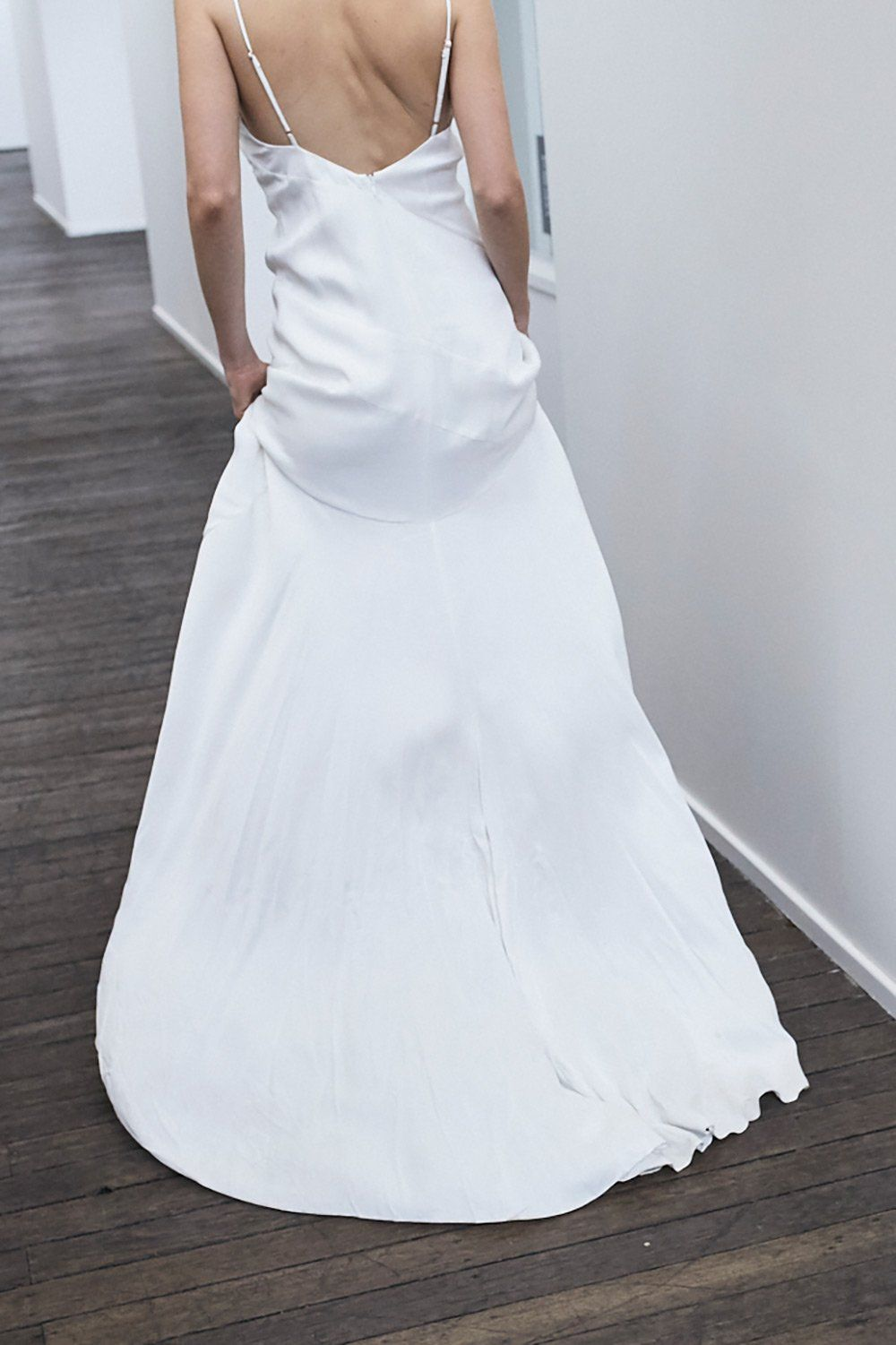 32bb21e1e5dc5d Romance Gown in White by MLM LABEL