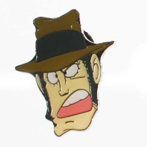 Lupin Lapel Pin X Character Head Zengata By Banpresto 4 99 Import Japanese Product With A Japanese Text Insert Pi Clear Plastic Bags Lapel Pins Bags