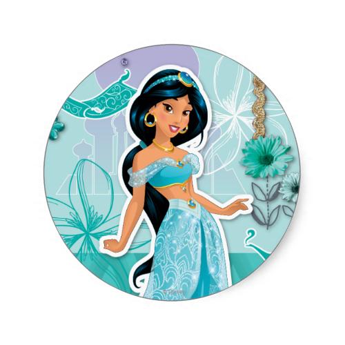 Jasmine - Courageous Stickers