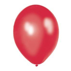 Globos rojos perlados (8)
