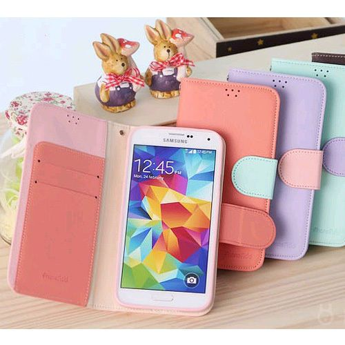 Phone Add Pastel Diary Wallet Case iPhone 6 Case 6 Colors made in Korea