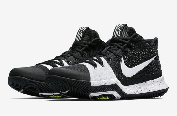 low priced 96065 f9e93 Release Date: Nike Kyrie 3 Tuxedo | Stuff to Buy | White basketball ...