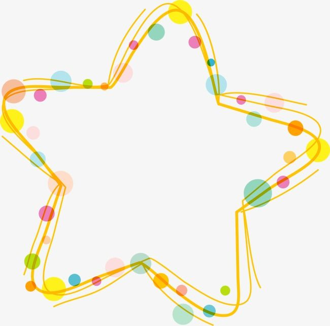 Stars Border Vector Ai Cartoon Png Transparent Clipart Image And Psd File For Free Download Colorful Borders Design Clip Art Borders Clip Art