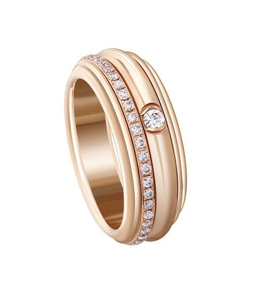 Piaget bague Possession en or rose et diamants