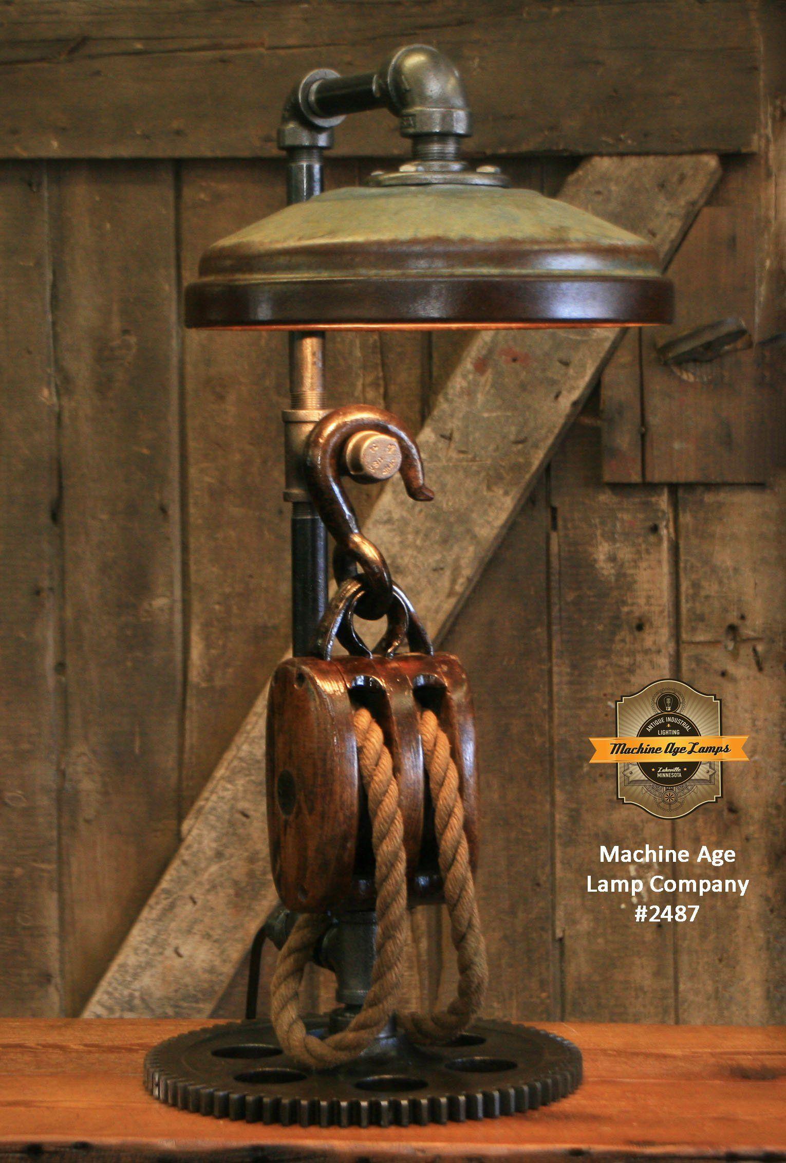 Vintage chicken feeder farmhouse steampunk industrial