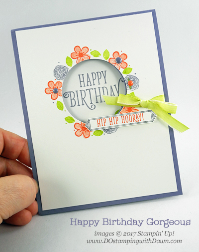 Stampin Up Happy Birthday Gorgeous Cards Shared By Dawn
