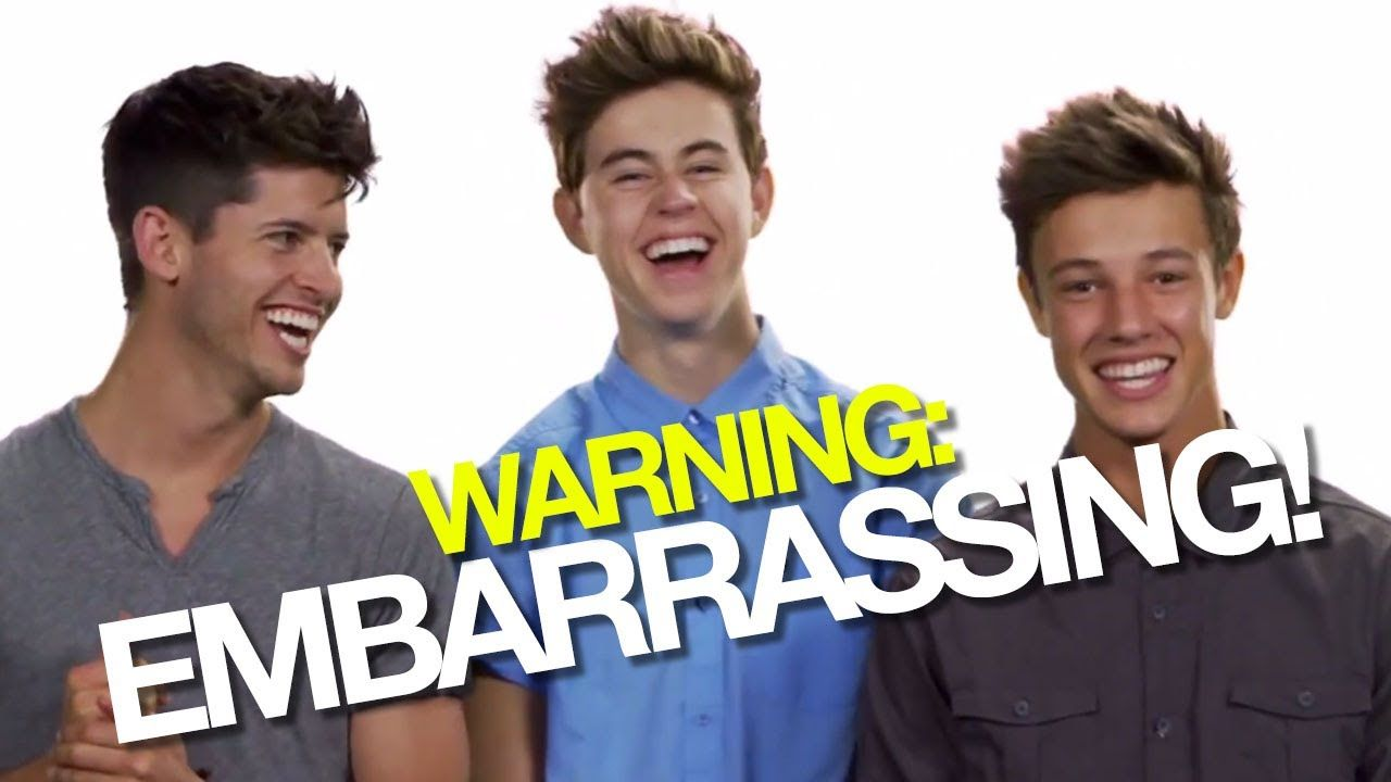 NASH GRIER AND CAMERON DALLAS' EMBARRASSING FIRST DATES! | #DearHunter Egg Salad and a White Rose yes