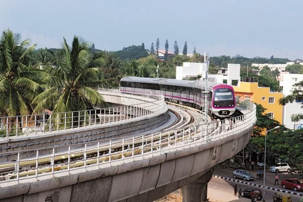 Trial run for Bangalore metro rail to start in November-Bangalore Metro Rail Corporation (BMRCL) is planning to start trial run from Magadi Road station to Mysore Road station in November this year. The length of the stretch is 6.52 km and the work on laying the track on this stretch will be completed in the next two weeks after that electrification work will be taken up.