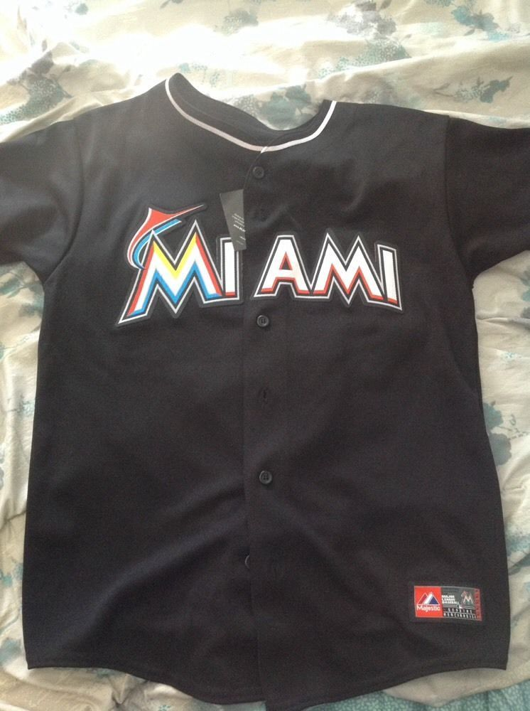 28744767 Majestic Giancarlo Stanton miami marlins mlb jersey new with tags ...