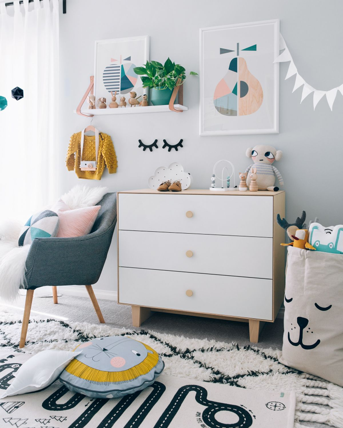 Scandinavian Baby Nursery: Link Love: When Scandinavian Meets Fun