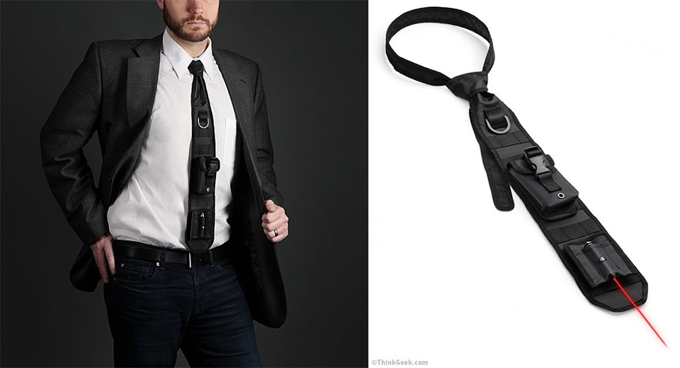 Laser-Guided Tactical Necktie | Stylish, Fashion