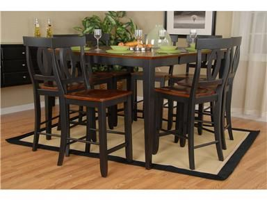 Ligo Products Dining Room Counter Height Table 452200   Kittleu0027s Furniture    Indiana And Ohio