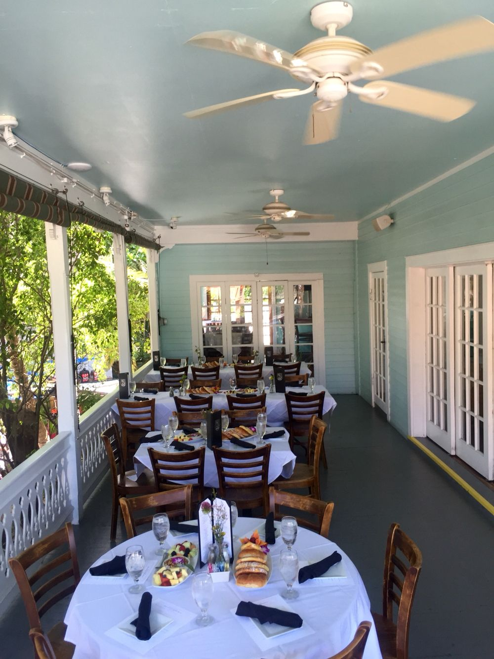 Pre Wedding Brunch For 30 Upstairs Bagatelle Key West Bagatelle