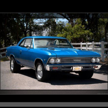 1966 Chevy Chevelle Big Block Muscle Car Poster | Zazzle.com