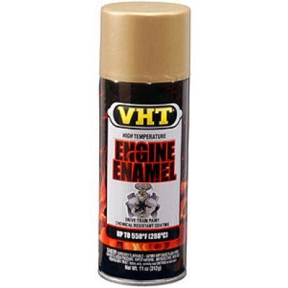 Vht Engine Paint Universal Gold Aerosol Spray Can Engineering Enamel