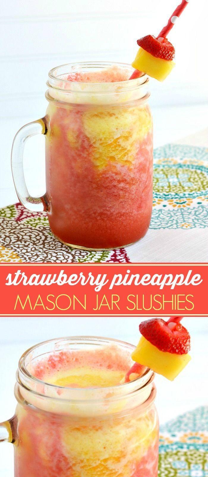 how to make pineapple slushies
