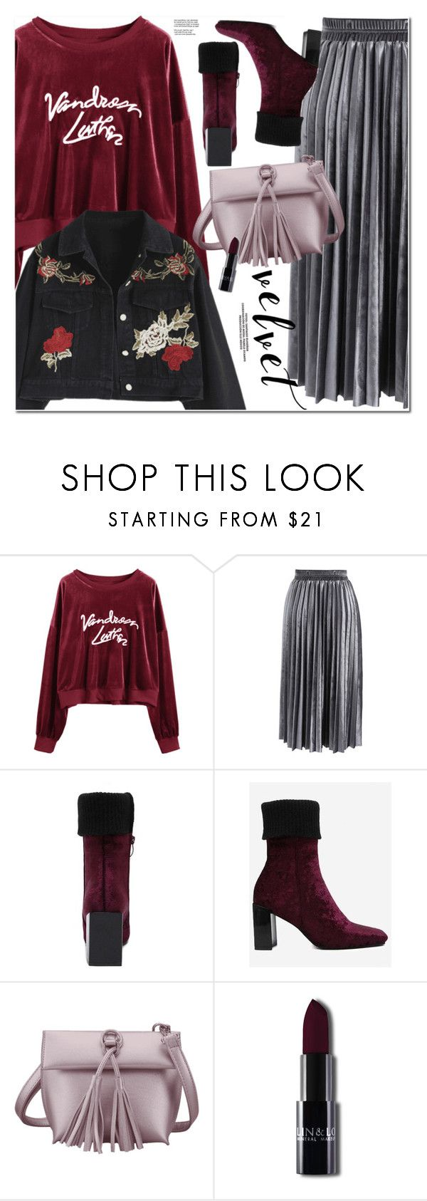 """Velvet"" by oshint ❤ liked on Polyvore featuring Chicwish"