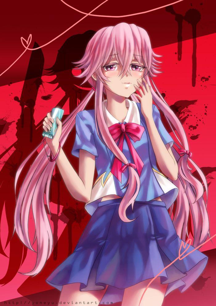 .Yuno Gasai. by yoneyu Manga and Anime Pinterest