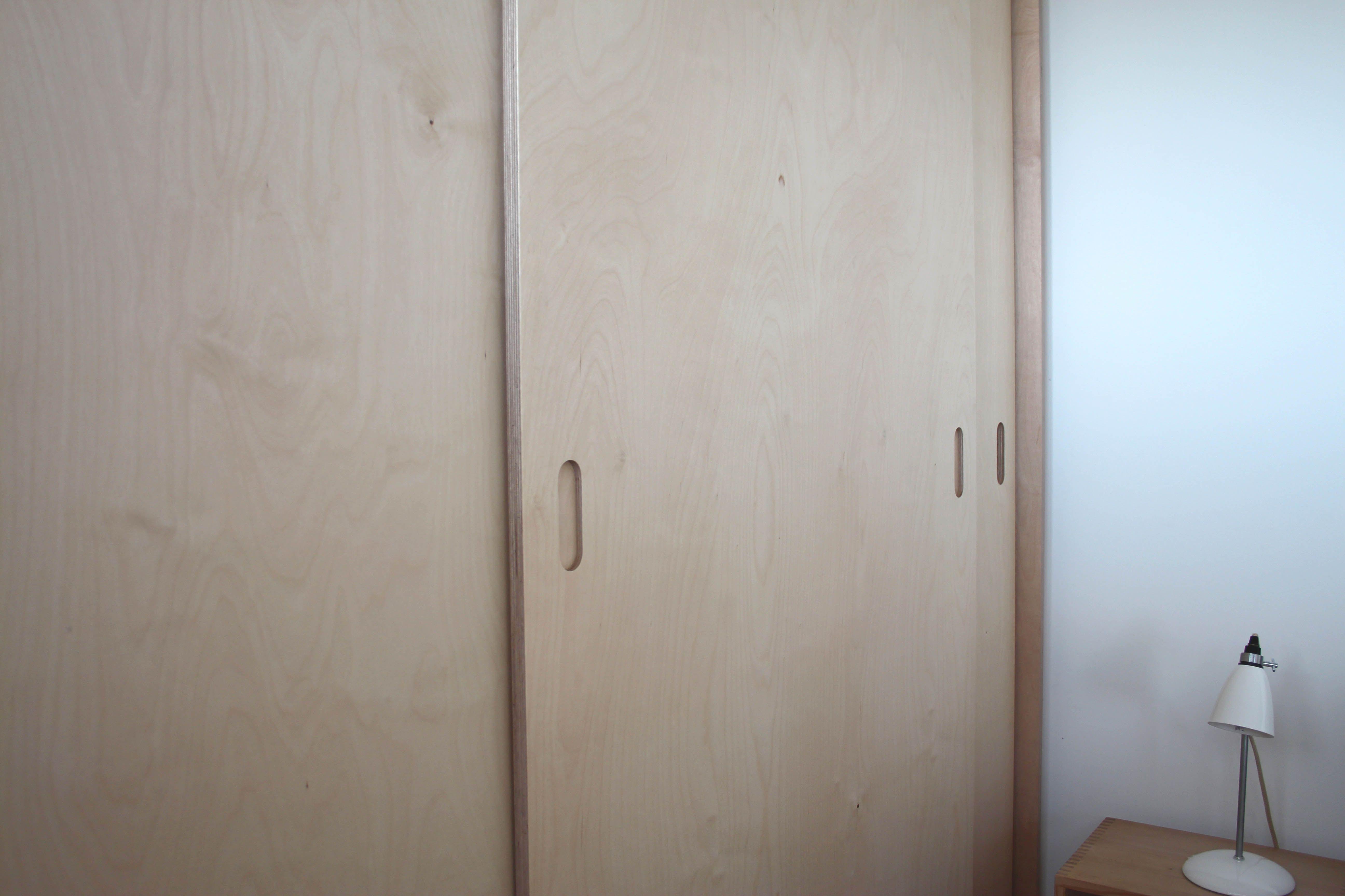 Replacement Kitchen Cupboard Doors Sliding Doors Birch Plywood Wardrobe Designed By 1934 In 2020 Wardrobe Doors Bedroom Cupboard Doors Wooden Bedroom