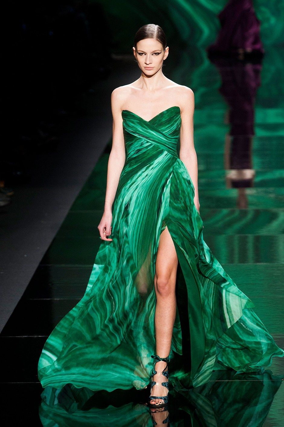 St Patrick\'s Day special: 9 times green gowns ruled the runway ...