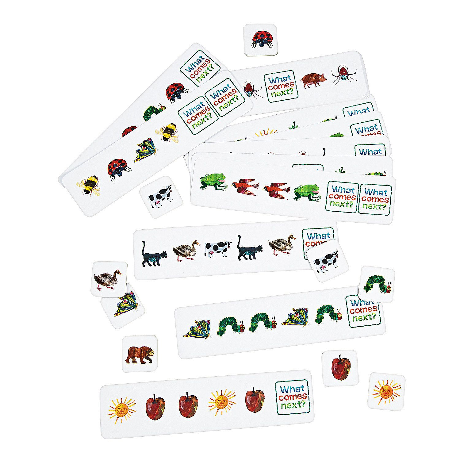 The World Of Eric Carle Sequencing Cards