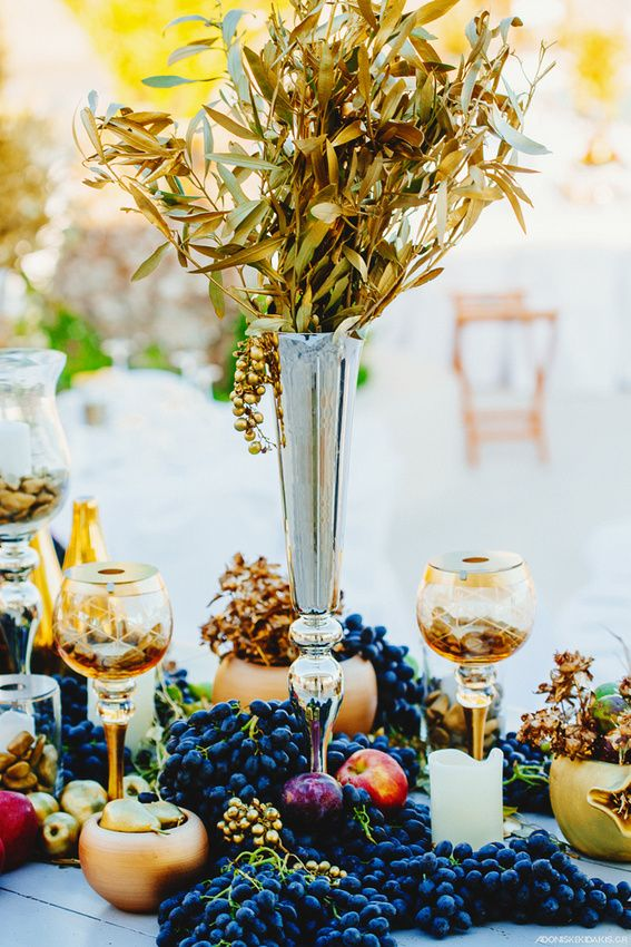 Mykonos weddings dream weddings mykonos wedding table for Ancient greek decoration ideas