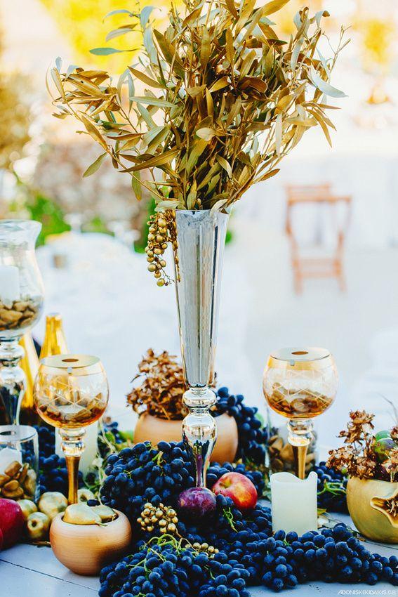 Mykonos Weddings Dream Weddings Mykonos Wedding Table Centerpiece