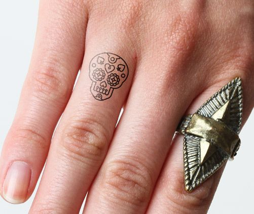 Sugar Tatuaje Skull Tatuajes De Calaveras Mexicanas Tatuaje De