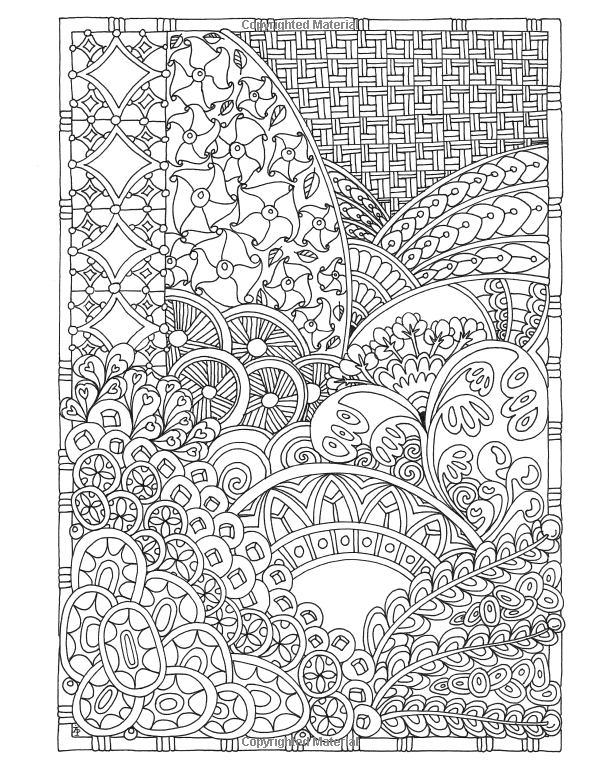 Amazon Angela Porters Zen Doodle Designs New York Times Bestselling Artists Adult Coloring