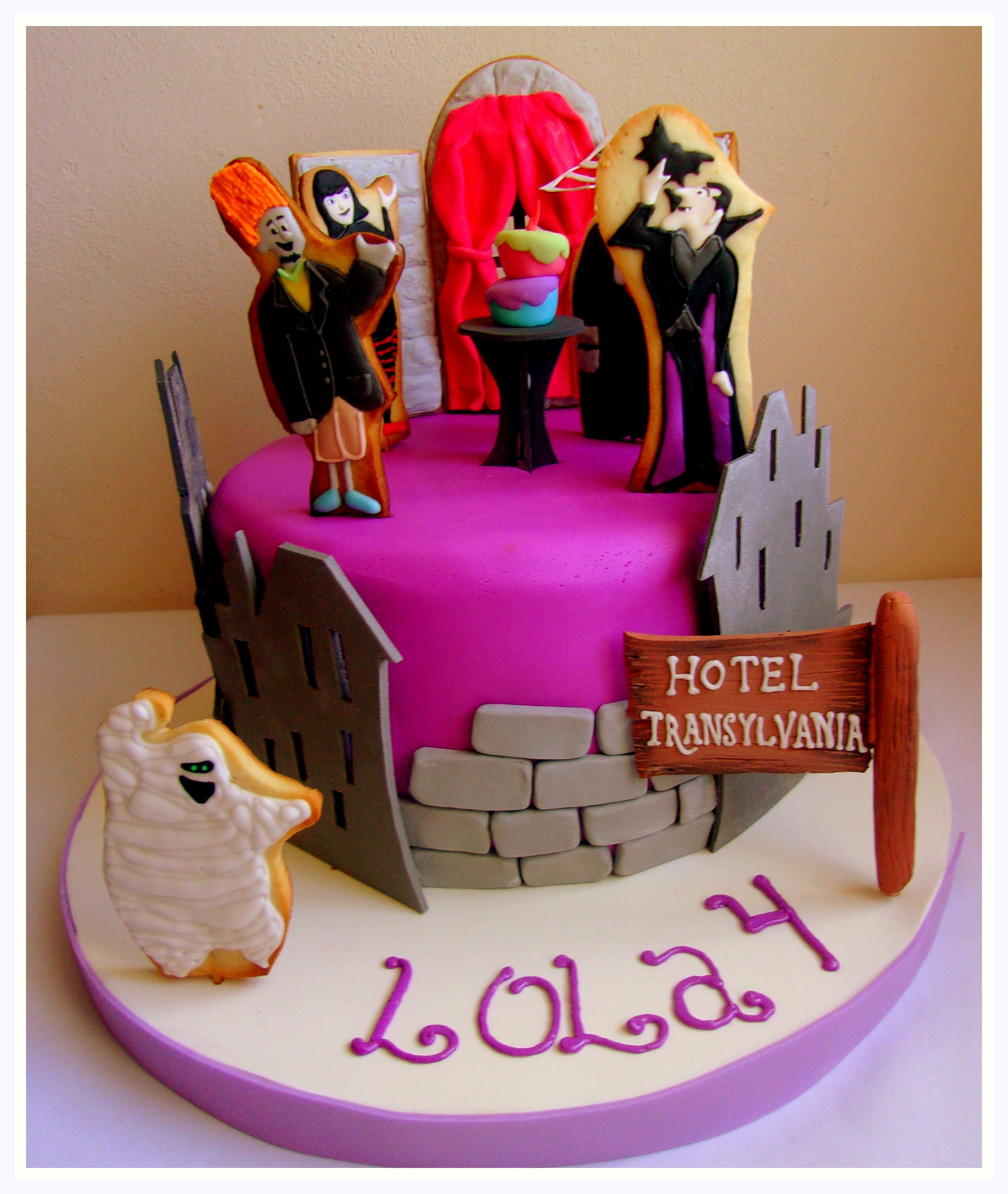 Hotel Transylvania Cake Birthday Ideas Twins