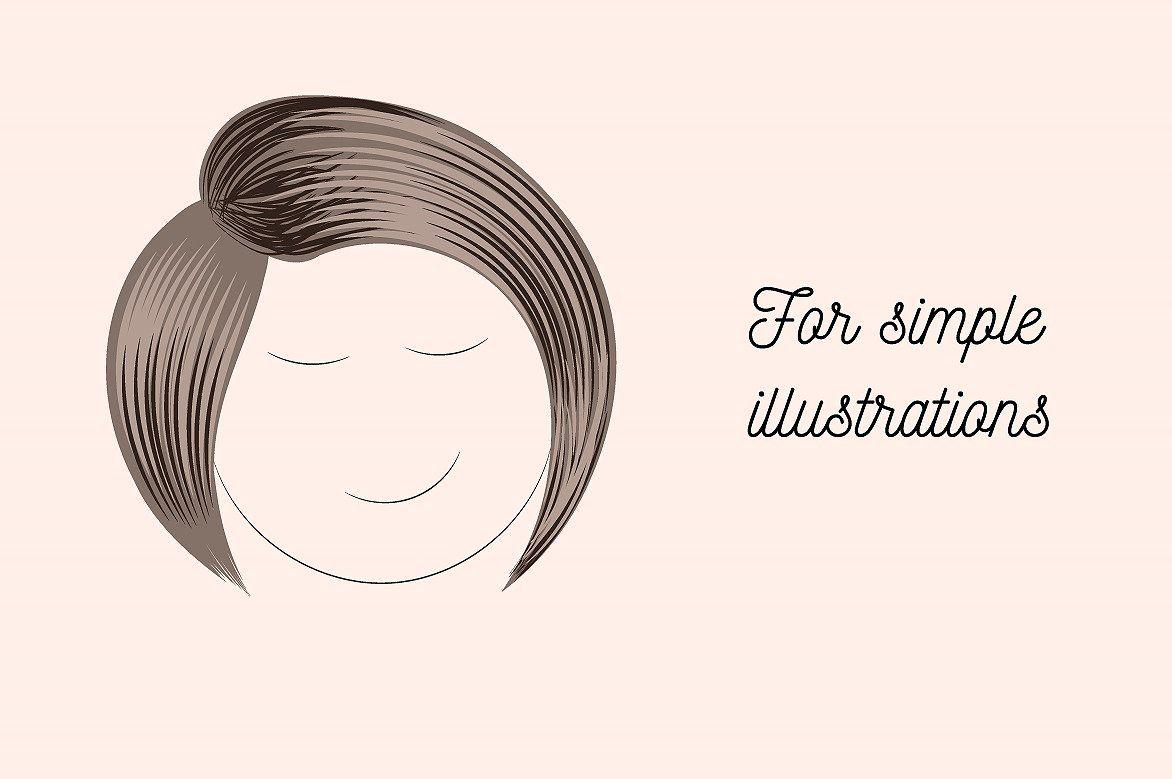 Hair Brush Adobe Illustrator Zipfindcompatibleillustrator