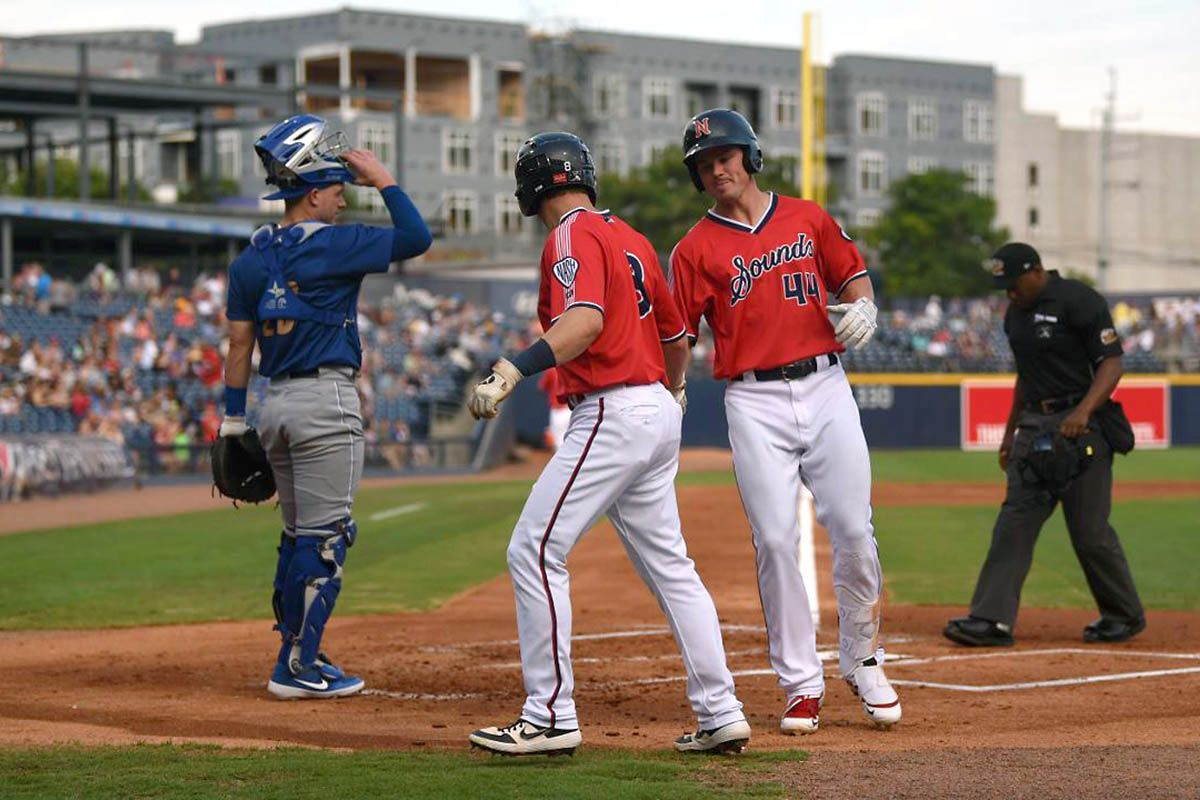 Nashville Sounds Fall 7 4 To Omaha Storm Chasers At First Tennessee Park Clarksville Tn Online Nashville Tennessee Omaha