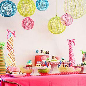 adornos caseros para decorar cumpleaos para nios decoracin y piatas fiestas y cumples - Fiestas Y Cumples