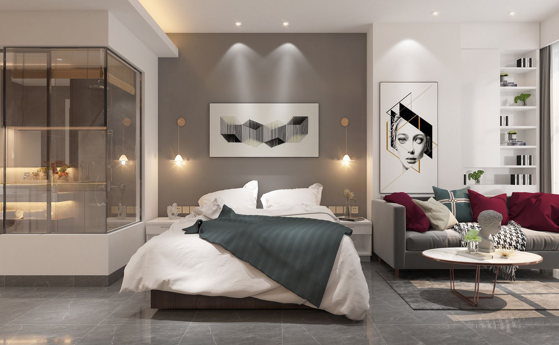 Pin On Quick Home Decor New modern apartment bedroom