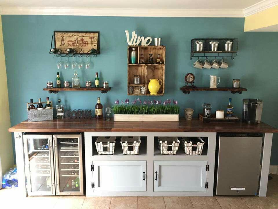 Craig bouchard 39 s coffee wine bar advanced beverage for Coffee bar station