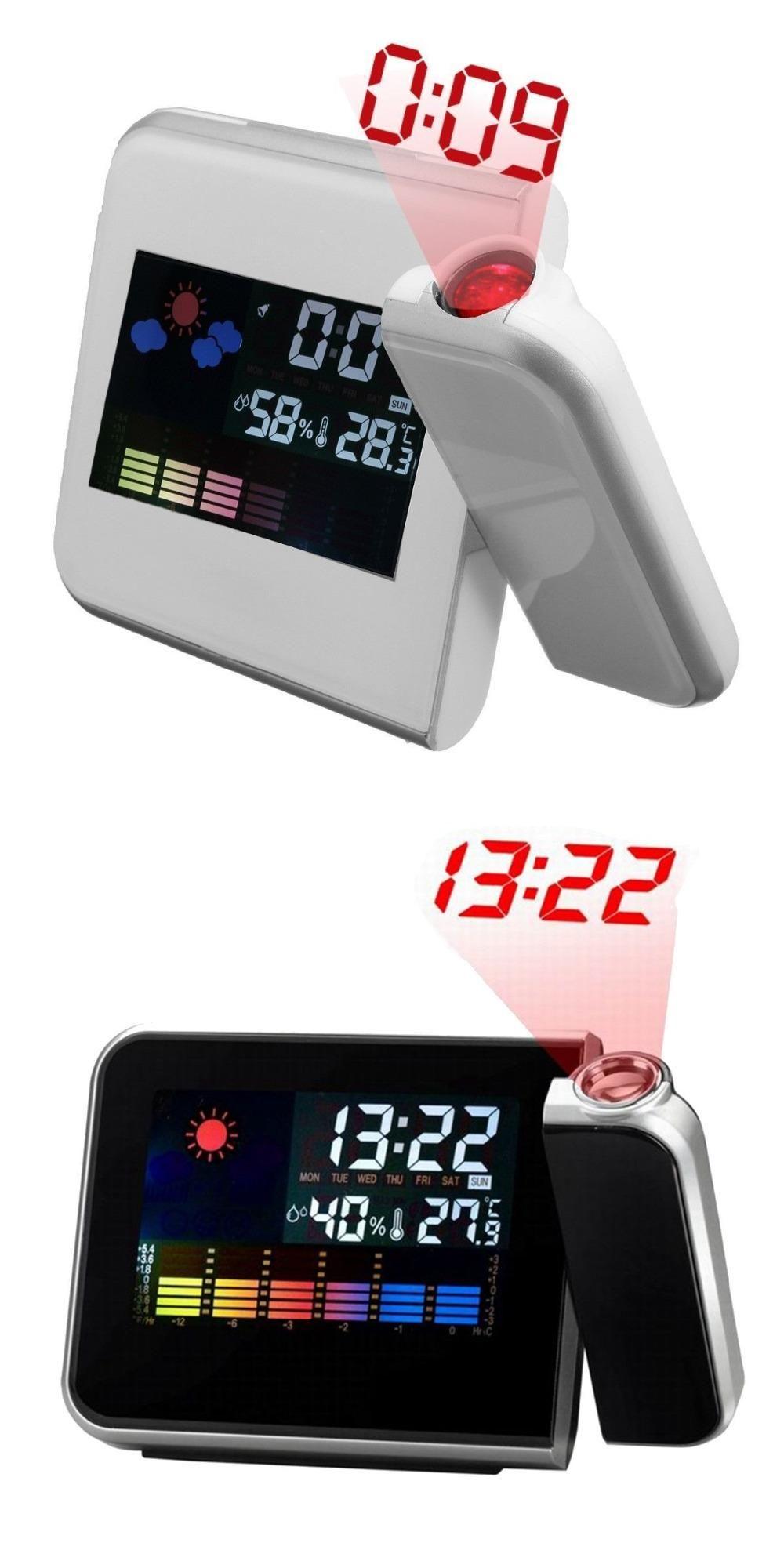2017 Promotion Digital Projection Alarm Clock Weather