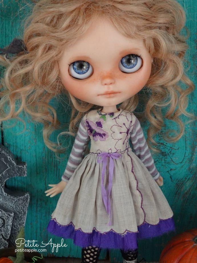 Dress Skirt Doll Blythe Flower New Clothing EL