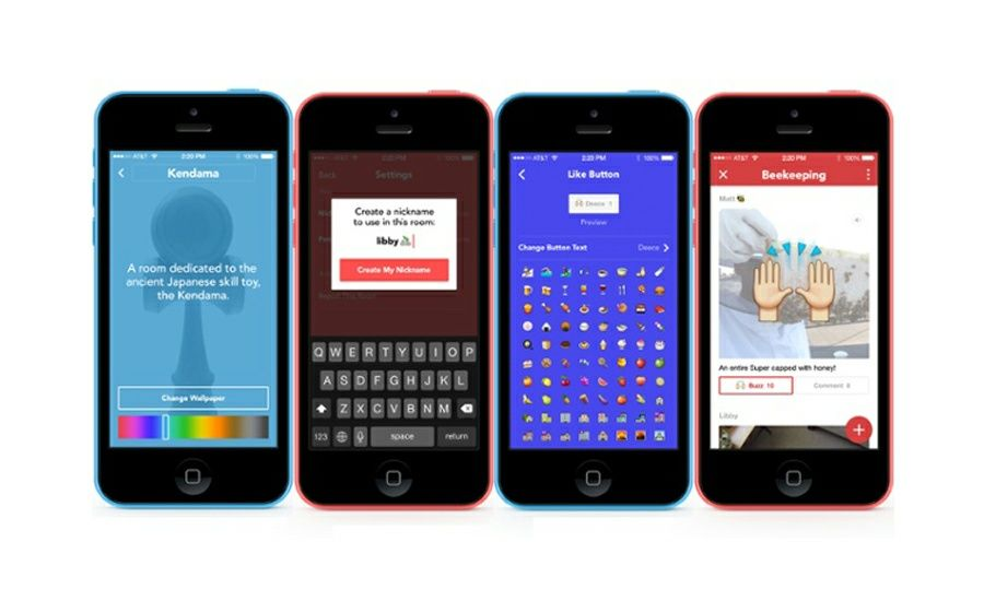 Facebook Presenta Rooms para iPhone, una Nueva App de Chat