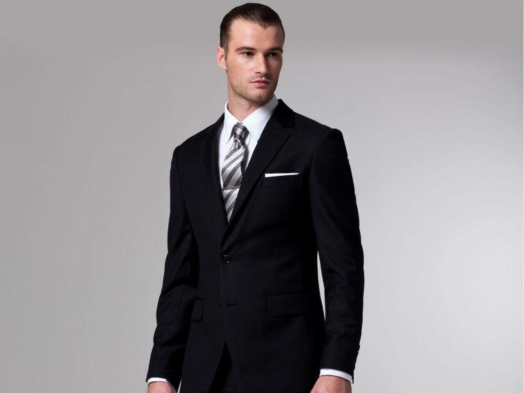 The Essential Black Suit 1