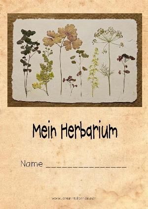 herbarium 20er vorlagen und anleitungen. Black Bedroom Furniture Sets. Home Design Ideas